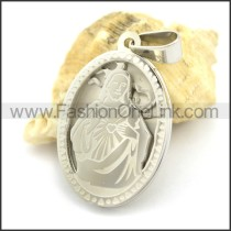 Delicate Stainless Steel Casting Pendant   p002387