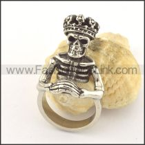 Unique Design Popular Skull Ring r001353