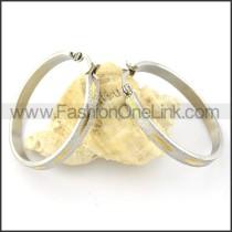 Delicate Stainless Steel Plating Earrings   e000544