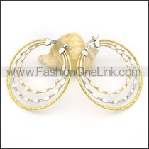 Good Quality Stainless Steel Plating Earrings      e000291