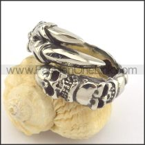 Unique Design Popular Skull Ring r001352