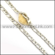 Good Quality Silver Stamping Necklace n000705