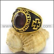 Vintage Stone Ring r003017