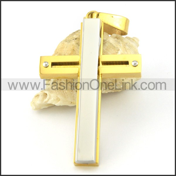 Exquisite Stainless Steel Big Pendant  p000529