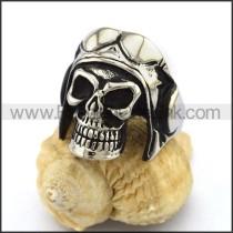 Delicate Stainless Steel Skull Ring  r003160