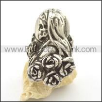 Stainless Steel Skull Ring r002039