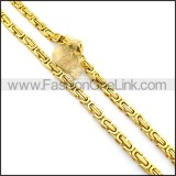 Gold Plated Necklace n000991