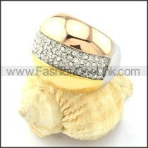 Stainless Steel Comfort Fit Fashion Ring r000767