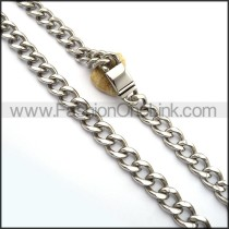 Succinct Stamping Necklace n001026