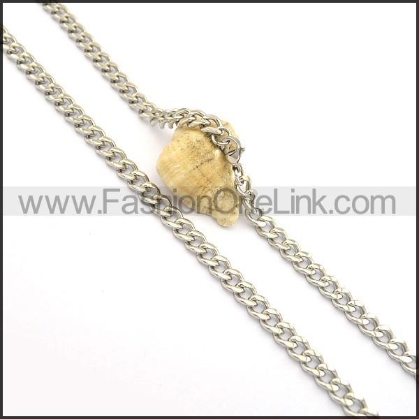 Delicate  Stamping Necklace n000681