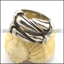 Stainless Steel Claw Ring  r002341