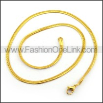 Delicate Gold Plated Necklace n001221