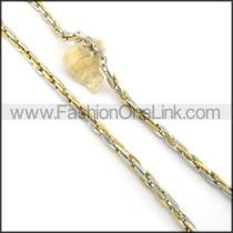 Unique Golden Plated Necklace n000580