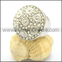 Delicate Shiny Stone Ring  r002178
