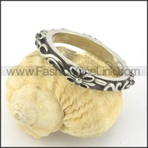 Exquisite Stainless Steel Ring r001432