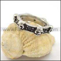 Vintage Stainless Steel Ring r001733
