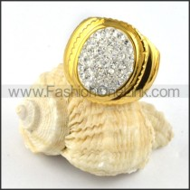 Stainless Steel Round Shape Ring r000223