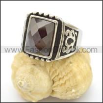 Vintage Stone Ring      r002765