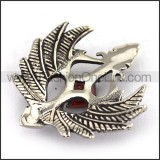 Delicate Stainless Steel Casting Pendant   p003674