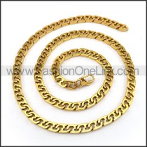 Exquisite Plated Necklace n001237