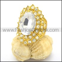 Delicate Shiny Stone Ring  r002175