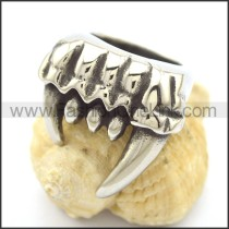 Stainless Steel Claw Ring r002342