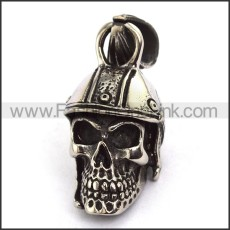 Exquisite Stainless Steel Skull Pendant   p003711