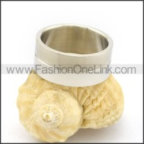 Graceful Popular Stainless Steel Ring  r002640