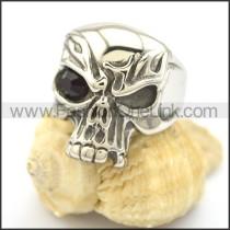 Stainless Steel Delicate Skull Ring r002028
