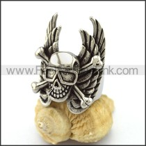 Unique Stainless Steel Skull Ring  r003210