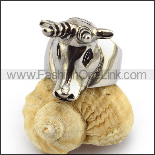 Stainless Steel Animal Ring   r003567