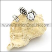 Delicate Stainless Steel Stone  Earrings  e000109