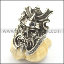 Delicate Stainless Steel Skull Ring   r001988