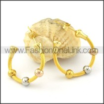 Exquisite Stainless Steel Plating Earrings   e000443