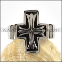 Stainless Steel Germany Cross Ring r000074