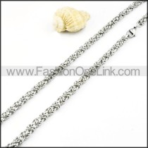 Elegant Twist Knots Necklace  n000005