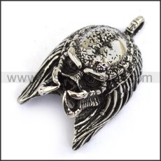 Hot Selling Stainless Steel Skull Pendant   p003958