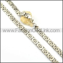 Elegant Silver  Plated Necklace    n000171