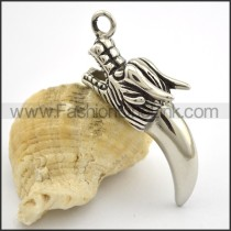 Delicate Stainless Steel Casting Pendant   p001761
