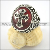 Exquisite Cross Ring  r001559