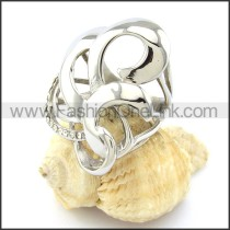Attractive Stainless Steel Ring r000908