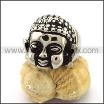 Stainless Steel Buddha Ring  r003198
