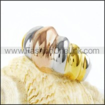 Stainless Steel Plated Special Design Ring r000038
