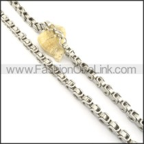 Silver Plated Necklace n000581