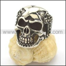 Unique Stainless Steel Skull  Ring  r002430