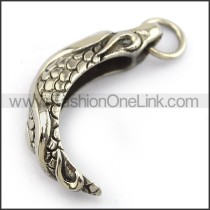Exquisite Stainless Steel Casting Pendant   p003995