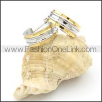 Ring Stack Design Earrings      e000171