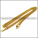 Delicate Gold Plated Necklace n001200