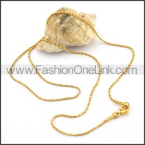 Graceful Stainless Steel Plated Necklace n001042