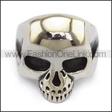 Stainless Steel Skull Ring  r003693